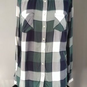 MERONA Plaid Button up